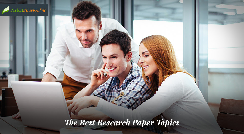 Best Topics for a Research Paper